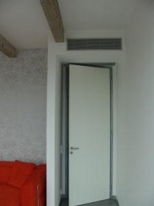 PRAHA – BYT Ukázka z montáže mezistropních jednotek Toshiba v soukromém bytě v Praze