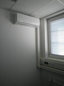 DESART Desart – Praha Bohdalec, komerční objekt Klimatizace v kancelářích typ Toshiba Multisplit 2+1 a 3+1